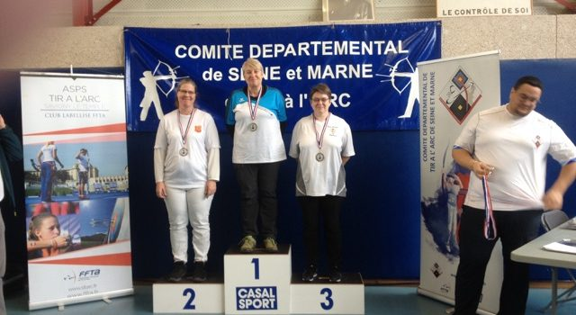 Brigitte, championne départementale 2020