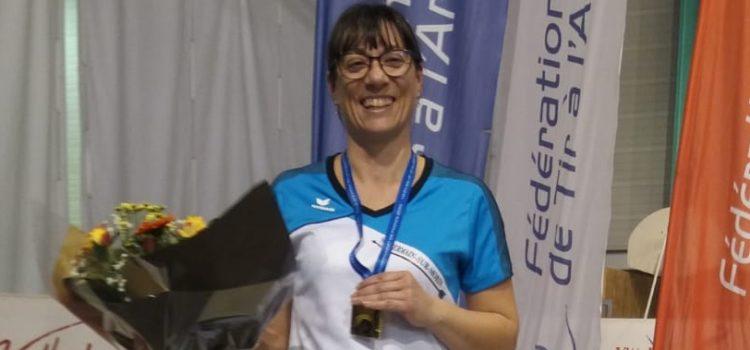 Magali, Championne de France salle 2020